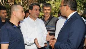Başkan Atila berberler ile buluştu