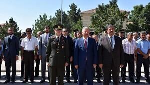 30 Ağustos Zafer Bayramı Tomarza'da sade bir törenle kutlandı