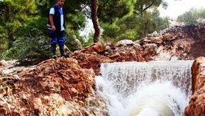 Yaz ortasında susuz kalan Bodrum'da tepki