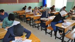 Suriyeli öğretmenler, Nizipte yeterlilik sınavına girdi