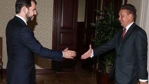 Enerji Bakanı Gazprom'u ağırladı