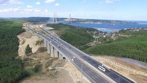 Ücretli geçişin ilk gününde Yavuz Sultan Selim Köprüsü ve otoyollar