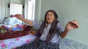 86 yaşındaki kadını gasp eden zanlı torunu çıktı