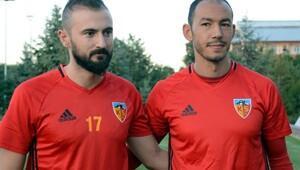 Umut Bulut ve Murat Duruer Kayserisporda ilk antrenmanda