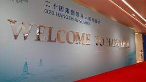 G20 liderleri Çinde buluşuyor