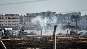 Kobani sınırında gergin anlar... Gaz ve tazyikli suyla müdahale...