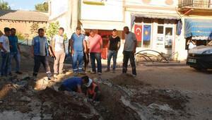 Çanakkale'de doğalgaz boru hattı delindi