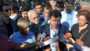 Selahattin Demirtaş 'Demokrasi ve Barış istiyoruz' mitinginde konuştu