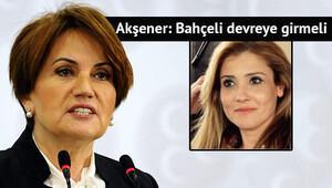 Meral Akşener ihraç edilen sekreterine sahip çıktı