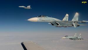 Rus uçağından Karadeniz üzerinde ABD uçağına önleme