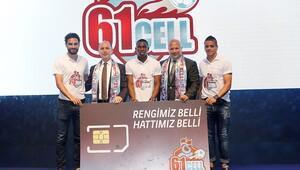 Trabzonspor'dan taraftara özel hat 61CELL