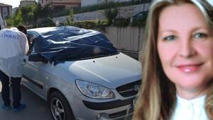 Kolunda serum takılı kadın otomobilde ölü bulundu