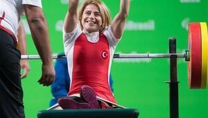 Nazmiye Muslu Muratlı'dan Rio 2016 Paralimpik'te dünya rekoru