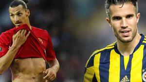 Şaşırtan sonuç! 'Van Persie ve Zlatan...'