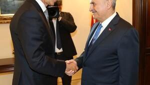 Başbakan Yıldırım, NATO Genel Sekreteri Stoltenberg'i kabul etti