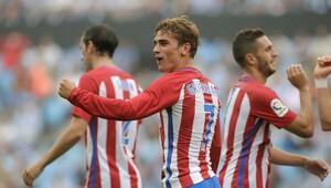 Atletico Madrid ikinci yarıda coştu, fark yaptı