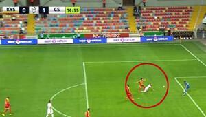 Kayseri'de penaltı tartışması!