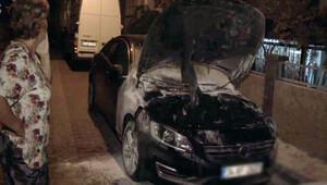 Avcılarda 28 araç kundaklandı