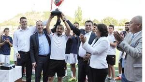 Türk Metal Kırıkkalespora şampiyonluk kupası