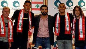 Futbol efsaneleri Lübnan'da buluştu
