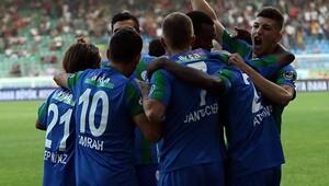 Çaykur Rizespor 1-0 Akhisar Belediyespor / MAÇIN ÖZETİ