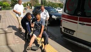 Tokatta acemi kasaplar hastaneye akın etti