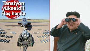 ABD'den Kuzey Kore'ye B-1B'li yanıt