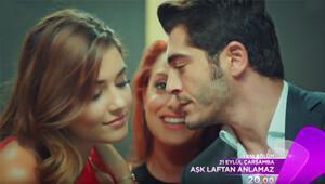 Aşk Laftan Anlamaz 11. bölüm fragmanında romantik sahne
