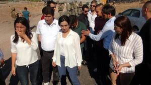 HDP'lilere izin verilmedi