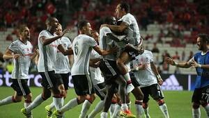 Benfica 1-1 Beşiktaş / MAÇIN ÖZETİ