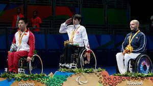 Rio'da ikinci altın madalya Abdullah Öztürk'ten