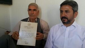 Başbakan'dan Kahta'daki şehit ailelerine mektup