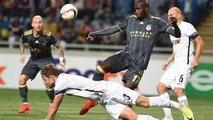Fenerbahçe, Zorya Luhansk ile 1-1 berabere kaldı