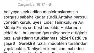 Adana Barosu Başkanı Bacanlı'dan, Feyzioğlu'na tepki