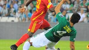 Bursaspor-Kayserispor İkinci yarı maç fotoğrafları