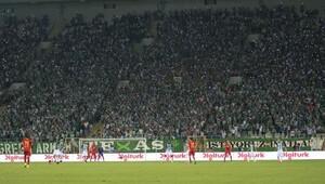 Bursaspor-Kayserispor Süper Lig maçı (Maç fotoları)