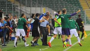 Bursaspor-Kayserispor Maç sonu fotoğrafları