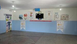 Midyat'ta 25 yıllık okul binası SODES projesi kapsamında yenilendi