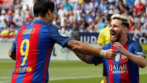 Rakibin hıyar ikramına Barça'dan 5 gollü cevap