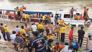 Tayland'da tekne kazası: 15 ölü