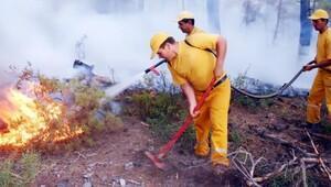 8 ayda toplam 418 hektar orman alevlere teslim oldu