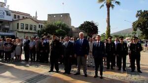 Çeşme'de Gaziler Günü kutlaması