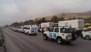 Suriye'de yardım konvoyları vuruldu
