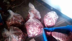 Domuz eti satarken yakalanan kasap yetkilileri göreve çağırdı