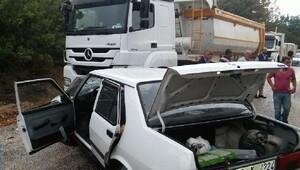 İnegöl'de kaza: 1 ölü, 1 yaralı