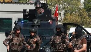 İsrail Büyükelçiliği önündeki saldırı girişimi sonrası geniş güvenlik önlemi