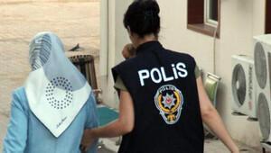 Aydın'da 'ablalar' gözaltına alındı