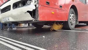 Şişli'de halk otobüsü dehşet saçtı: 3 yaralı