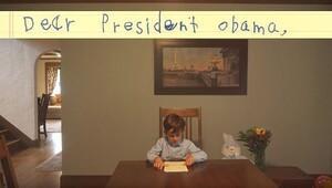 6 yaşındaki Alex'ten Obama'ya 'Ümran' mektubu