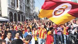 Galatasaray taraftarı Vodafone Arena'ya böyle gelecek
